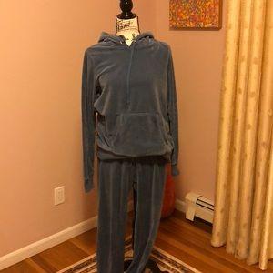H&M velour suit